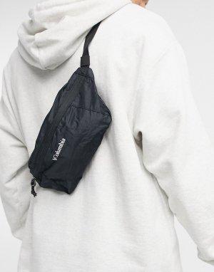 Черная легкая складная сумка-кошелек на пояс -Черный цвет Columbia