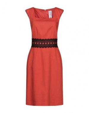 Короткое платье 22 MAGGIO by MARIA GRAZIA SEVERI. Цвет: оранжевый