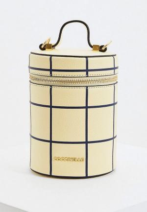 Сумка Coccinelle SONNY. Цвет: желтый