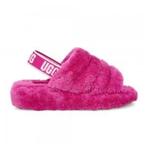 Fluff Yeah Slide Women UGG. Цвет: розовый
