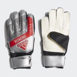 Вратарские перчатки Predator Top Fingersave Performance adidas. Цвет: черный