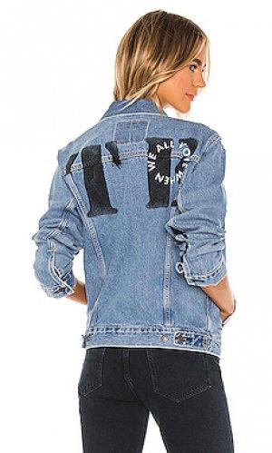 Джинсовая куртка when we all vote LEVIS LEVI'S. Цвет: синий
