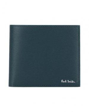 Бумажник PAUL SMITH. Цвет: грифельно-синий