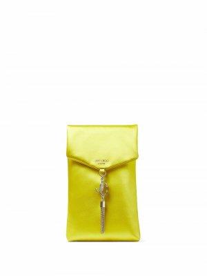 Soft phone holder Jimmy Choo. Цвет: желтый