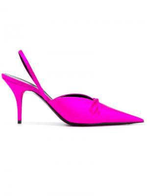 Мюли Knife Balenciaga. Цвет: розовый