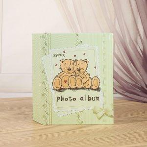 Фотоальбом с принтом медведя SHEIN. Цвет: многоцветный