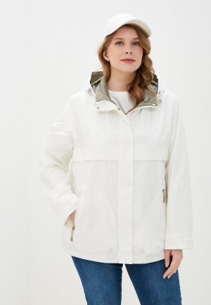 Куртка Chic & Charisma. Цвет: белый