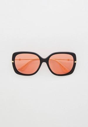 Очки солнцезащитные Gucci GG0511S002. Цвет: черный
