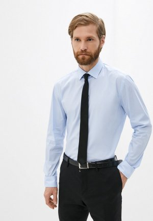 Рубашка Hugo Kenno. Цвет: голубой