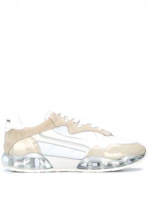 Кроссовки с мраморным принтом Alexander Wang. Цвет: белый