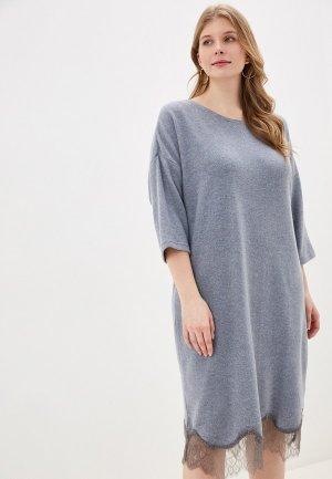 Платье домашнее Hays. Цвет: голубой