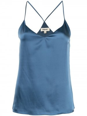 LAgence блузка Kylee L'Agence. Цвет: черный
