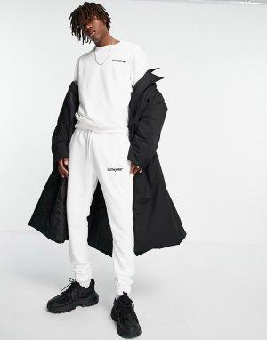 Светлый спортивный костюм Essential-Белый Sixth June