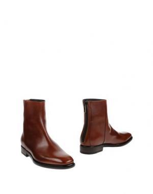 Полусапоги и высокие ботинки FRYE. Цвет: коричневый