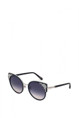 Очки солнцезащитные Chopard. Цвет: голубой