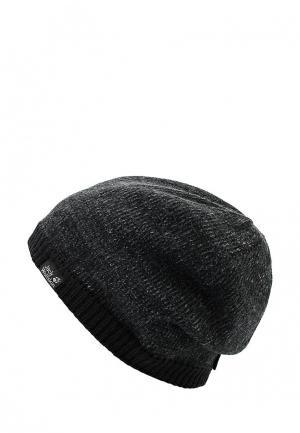 Шапка Jack Wolfskin STORMLOCK FOGGY CAP. Цвет: черный