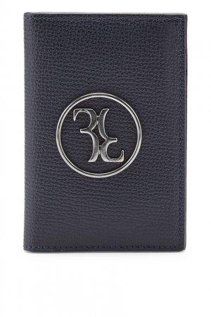 Темно-синий футляр для кредитных карт Billionaire. Цвет: синий