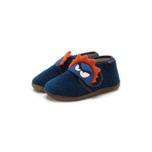 Туфли Naturino. Цвет: синий