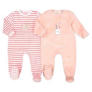 Пижамы La Redoute. Цвет: розовый