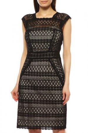 Платье Laurel. Цвет: черный, белый