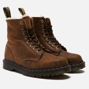 Ботинки 1460 Pascal 8 Eye Dr. Martens. Цвет: коричневый