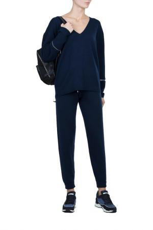 Пуловер MAX & MOI. Цвет: синий