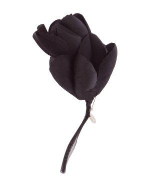 Брошь 18018724 UNI черный Ann Demeulemeester. Цвет: черный