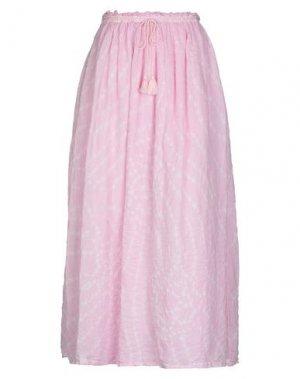 Длинная юбка ANTIK BATIK. Цвет: светло-фиолетовый