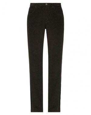 Повседневные брюки I'M ISOLA MARRAS. Цвет: темно-коричневый