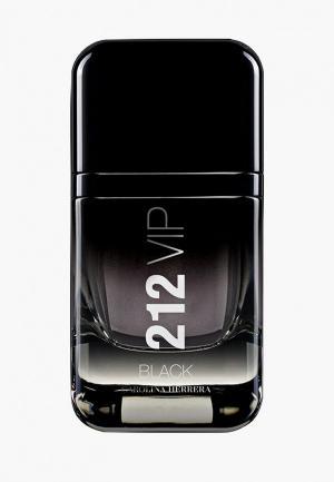 Парфюмерная вода Carolina Herrera 212 Vip Men Black 50 мл. Цвет: черный
