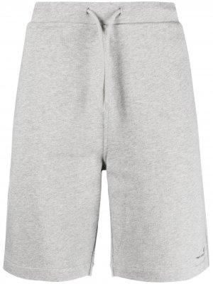 Спортивные шорты с логотипом A.P.C.. Цвет: серый