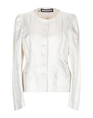 Пиджак AQUILANO-RIMONDI. Цвет: слоновая кость
