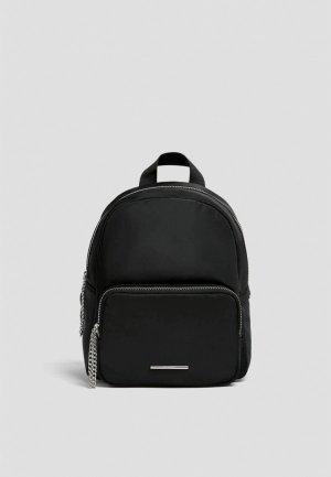 Рюкзак Pull&Bear. Цвет: черный