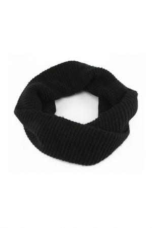 Шарф DKNY. Цвет: черный