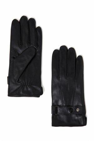 Перчатки мужские Finn-Flare. Цвет: черный