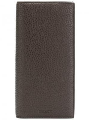 Бумажник Straddok Bally. Цвет: коричневый