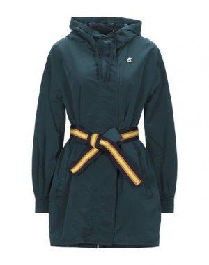 Легкое пальто K-WAY. Цвет: цвет морской волны