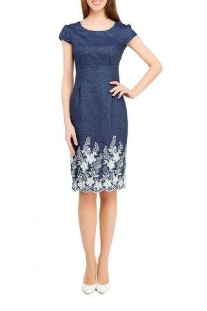 Платье Giulia Rossi. Цвет: сине-белый