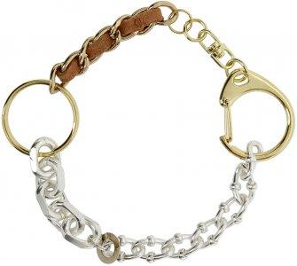 Gold & Silver Materialmix Bracelet Bless. Цвет: gold/silver