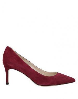 Туфли DEIMILLE. Цвет: кирпично-красный