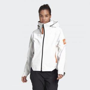 Куртка-дождевик MYSHELTER Performance adidas. Цвет: белый