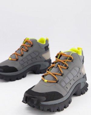 Серые ботинки CAT Resistor-Серый Footwear