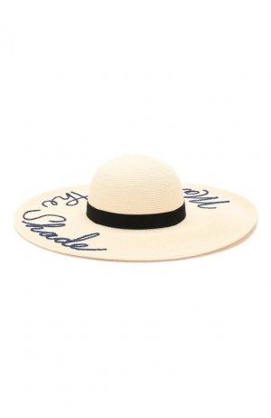 Шляпа Bunny Eugenia Kim. Цвет: бежевый