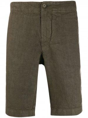 Классические шорты чинос Aspesi. Цвет: зеленый