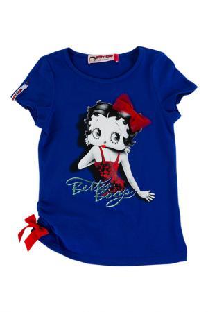 Футболка Betty Boop. Цвет: мультицвет