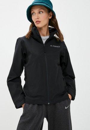 Ветровка adidas W MT RR JACKET. Цвет: черный