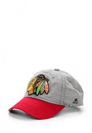 Бейсболка Atributika & Club™ NHL Chicago Blackhawks. Цвет: разноцветный