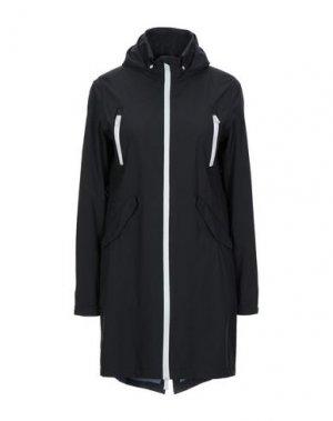 Легкое пальто PEOPLE OF SHIBUYA. Цвет: черный