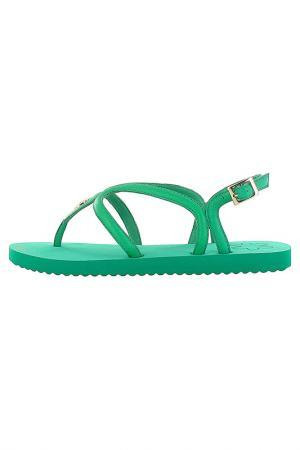 Сандалии Flip Flop. Цвет: зеленый