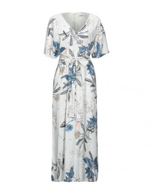 Длинное платье DRY LAKE.. Цвет: светло-серый